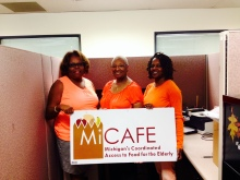 The Southeastern Michigan MiCAFE team and Project Healthy Living Coach