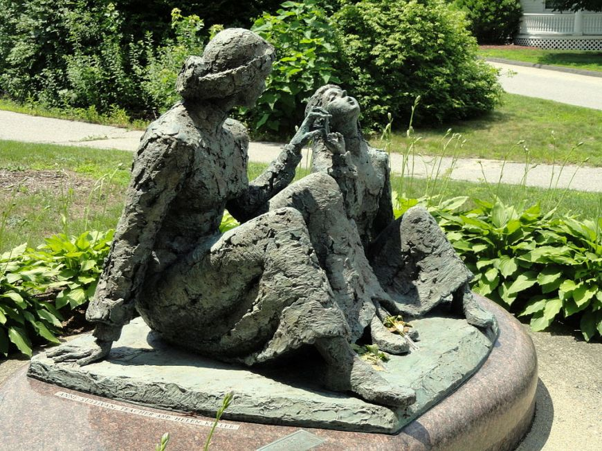 Anne Sullivan - Helen Keller memorial - Tewksbury, Massachusetts