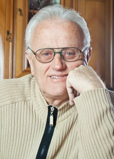 Man wearing glasses.