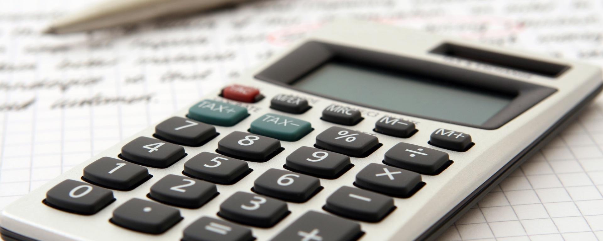 10-key pad calculator